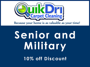 10% Discount for Seniors and Military